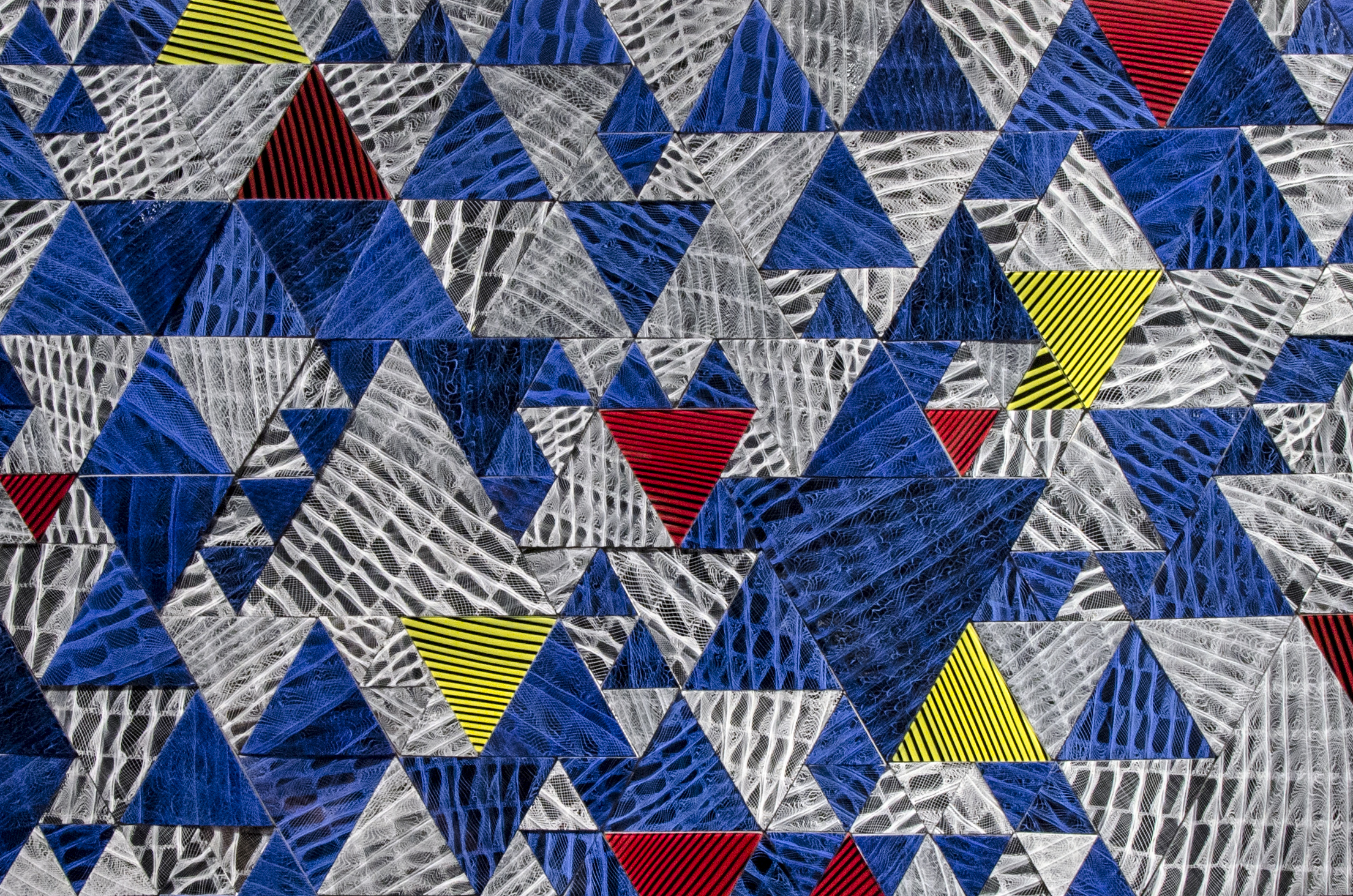 Vitreous Tessellation (detail) - 2014