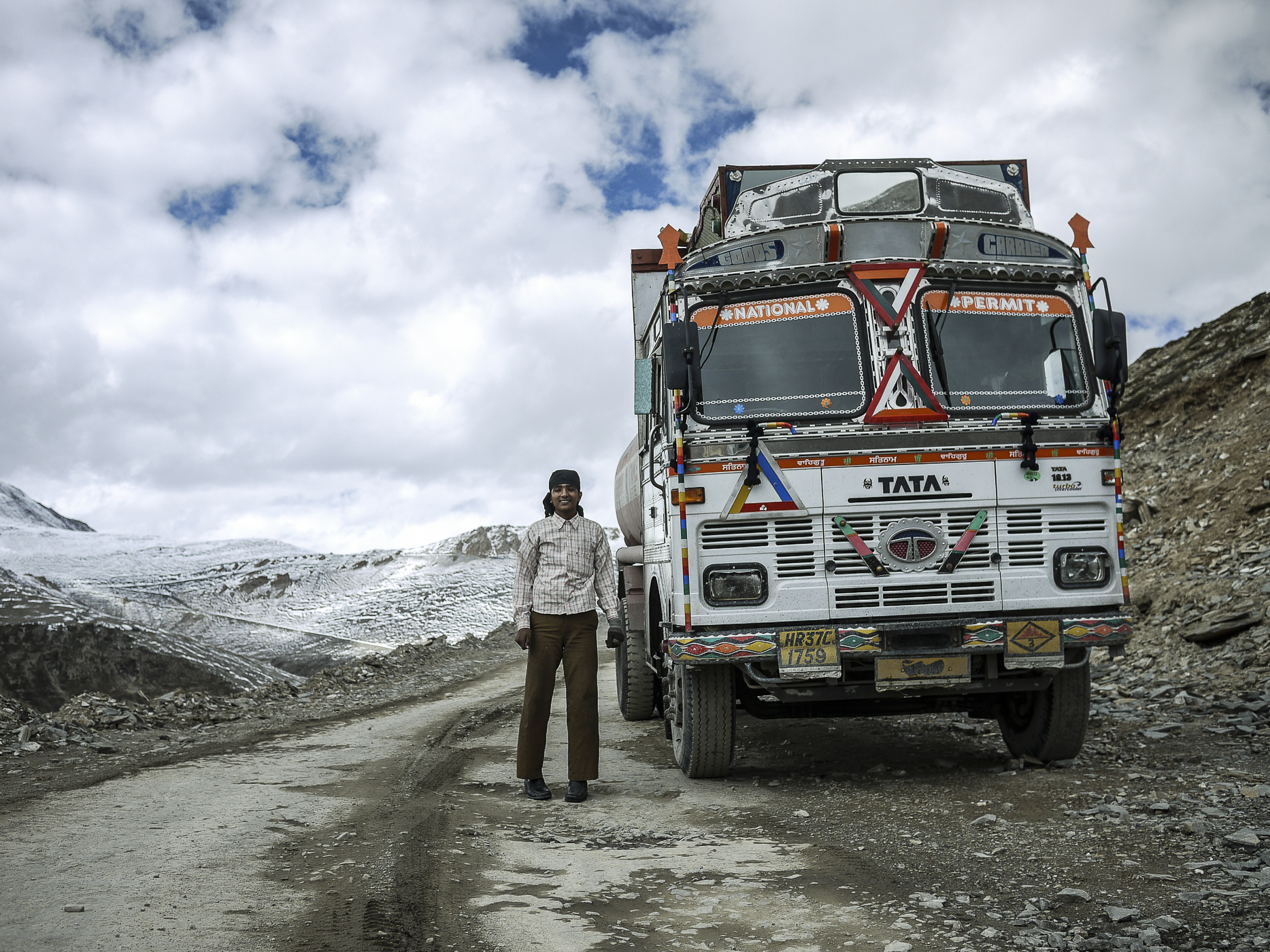 Himalayan roads are used for military transport, tourism, and local traffic.