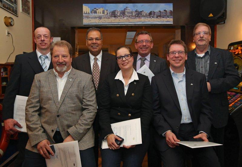 In 2013 ontving een aantal bestuursleden de 'Haagse stadspeld'