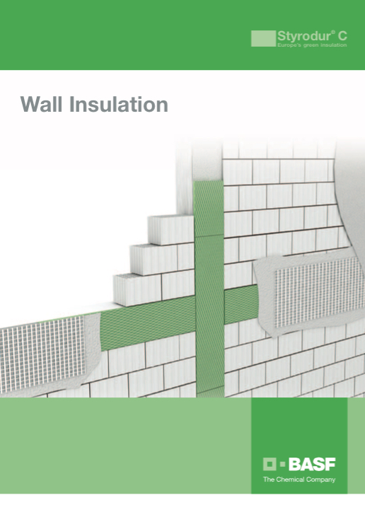 basf styrodur wall application