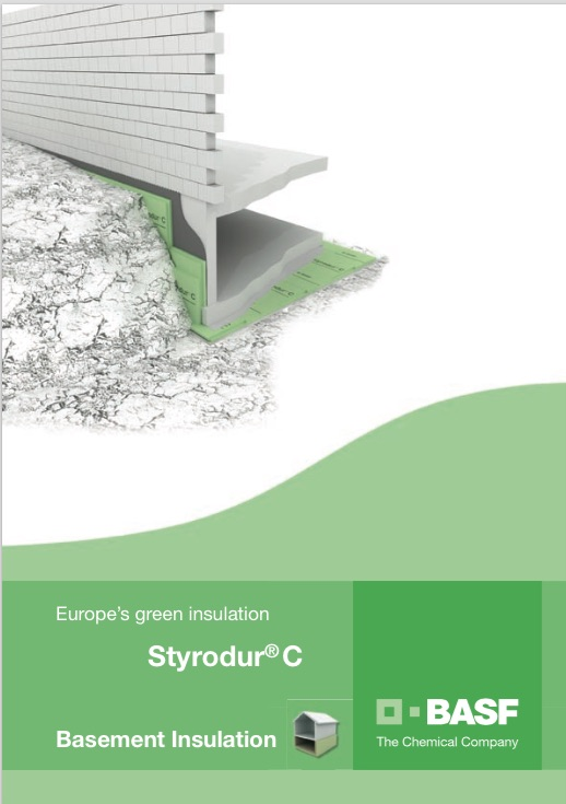 BASF STYRODUR BASEMENT APPLICATION