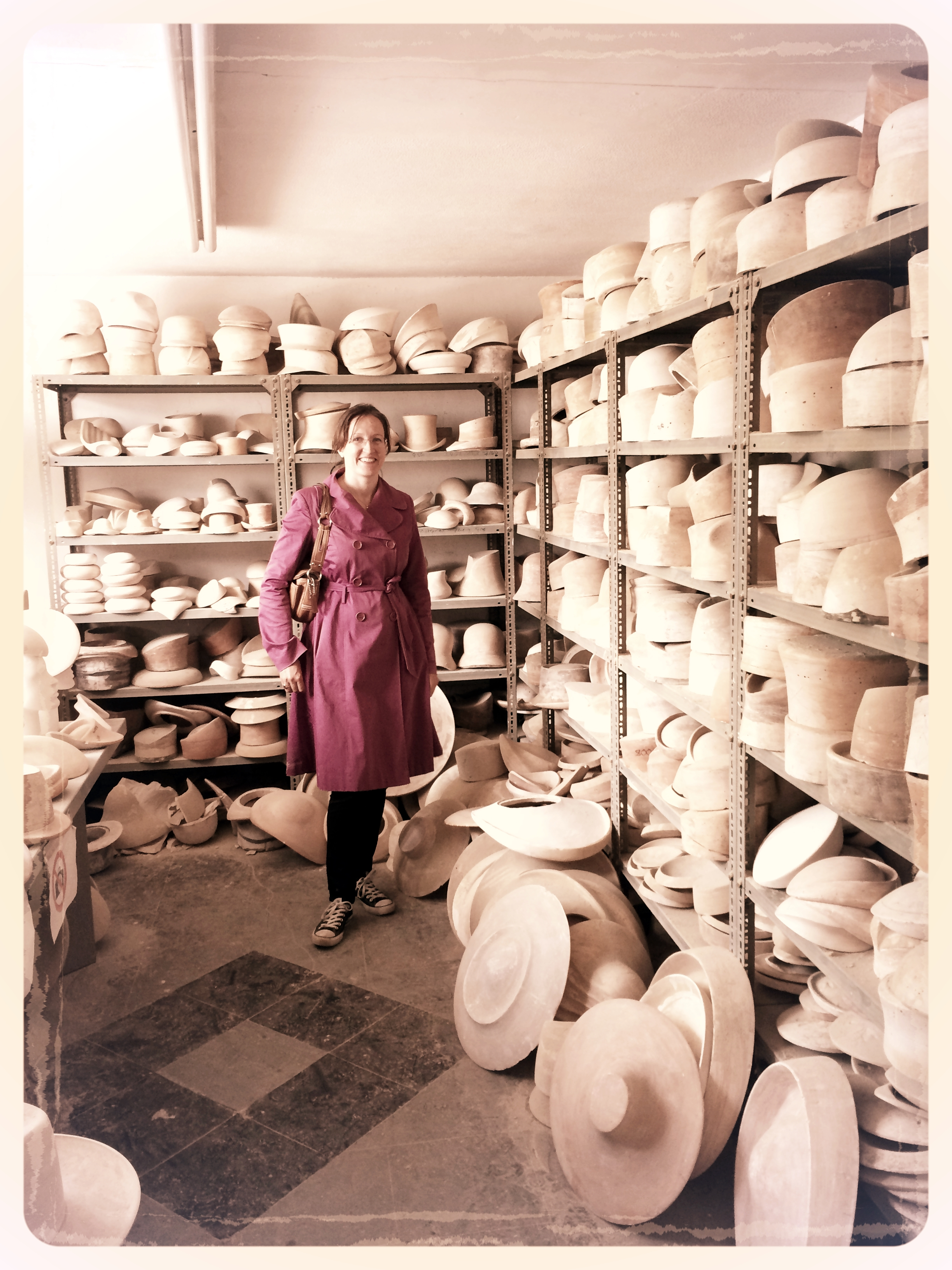 The City Milliner Boon and Lane hat block show room.JPG