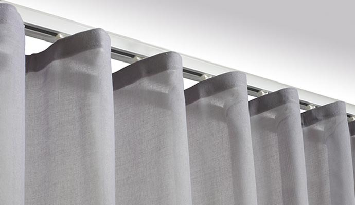 S Fold Curtain Details