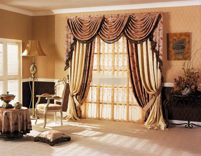 Scalloped Curtain