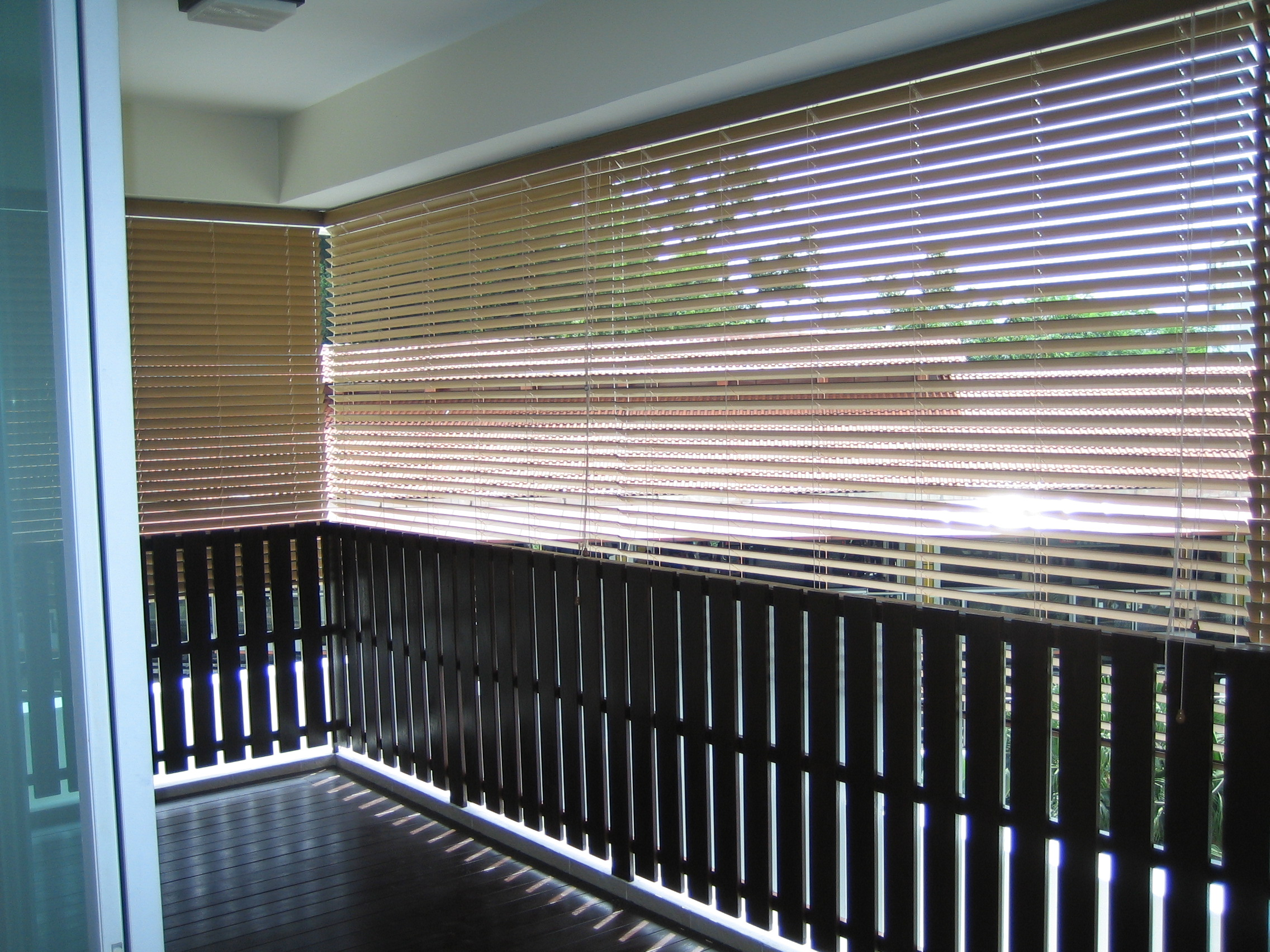 Outdoor Blind PVC