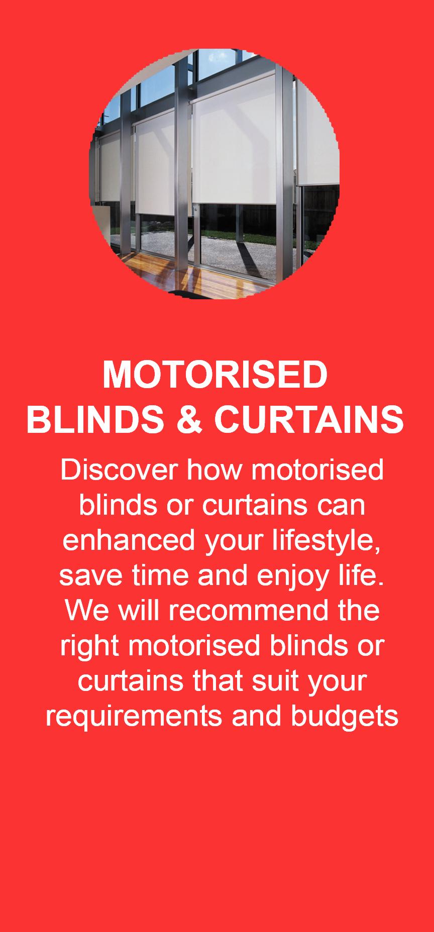 Motorised Blinds