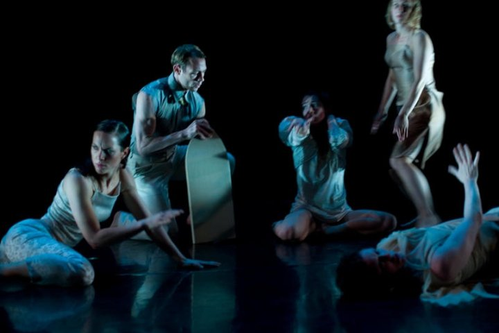 Heather MacPhail, Erika Howard, Molly Johnson, Brendan Wyatt, Marie France Forcier in Bliss      Image: Walter Lai