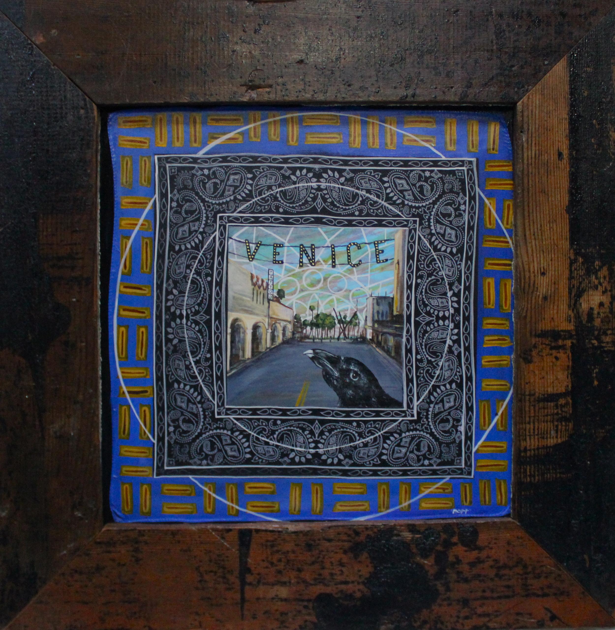 'Venice' Mixed media 32''x32''