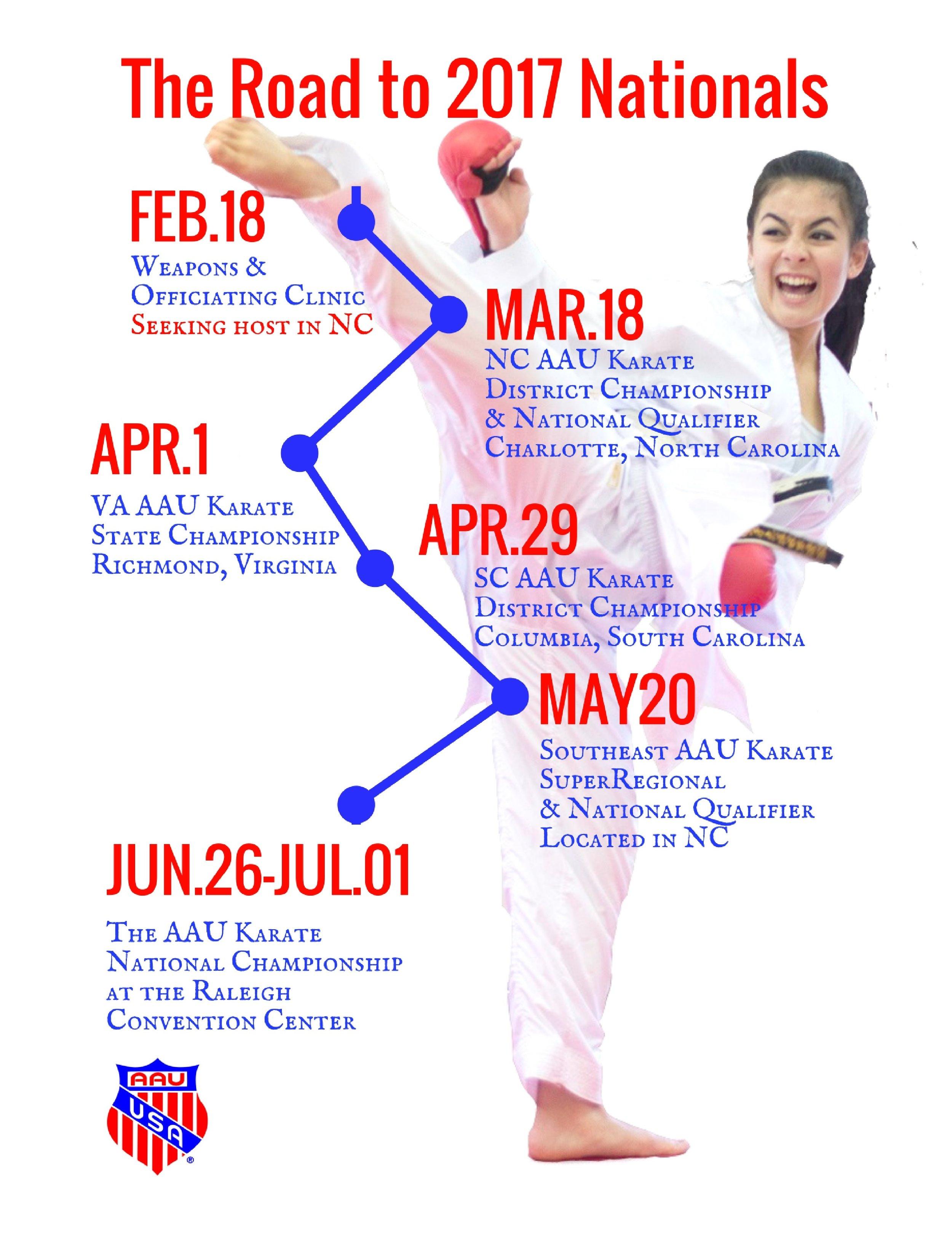 2. Road to AAU Karate Nationals.jpg