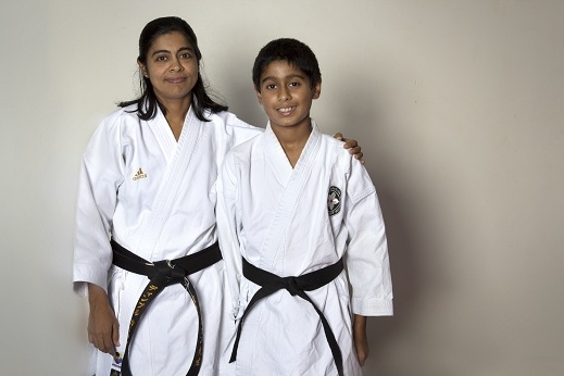 BEST KARATE LOVES FAMILIES.