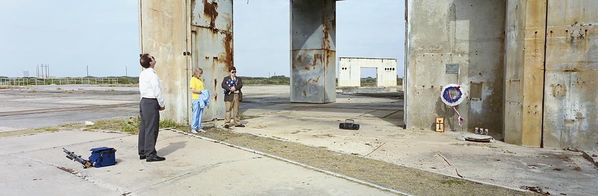 Apollo 1 Fire Commemorative Launch Pad Service (Bob Castro, Helen Castro, and Mark Pinchal)