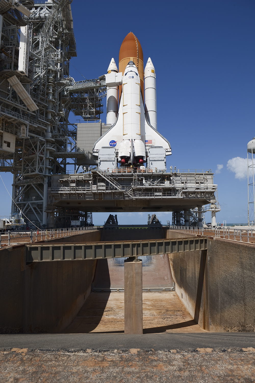 Space Shuttle Atlantis on Mobile Launch Platform, STS-125
