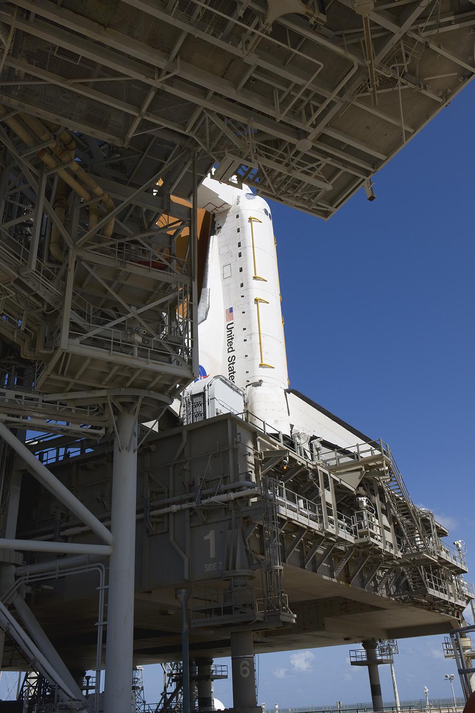Atlantis on Mobile Launch Platform, Pad 39A, STS-125