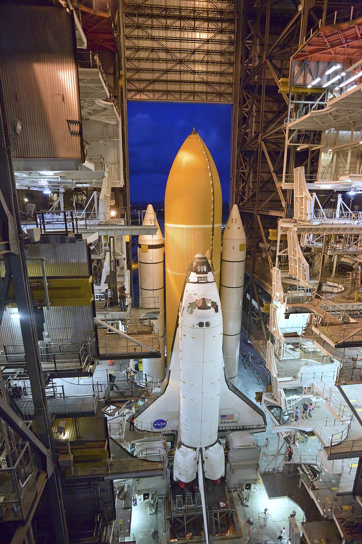 Final Rollout, Space Shuttle Atlantis, STS-135