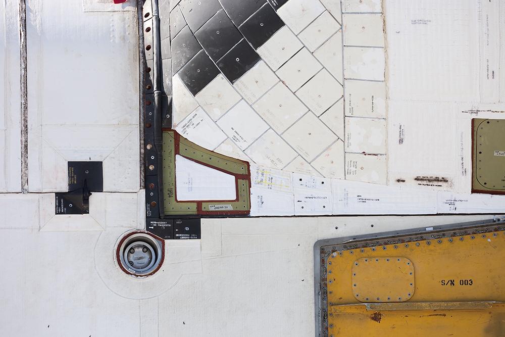 Detail, Aft Fuselage Hoist and Access Door, Space Shuttle Atlantis
