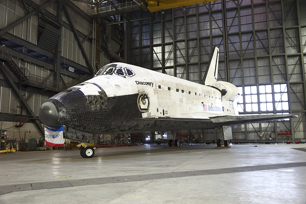 Space Shuttle Discovery, VAB