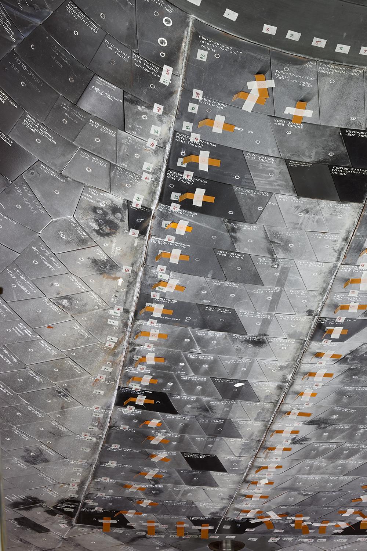 Forward Landing Gear Doors, Space Shuttle Endeavour