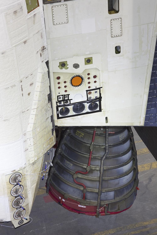 Aft Detail, Space Shuttle Endeavour