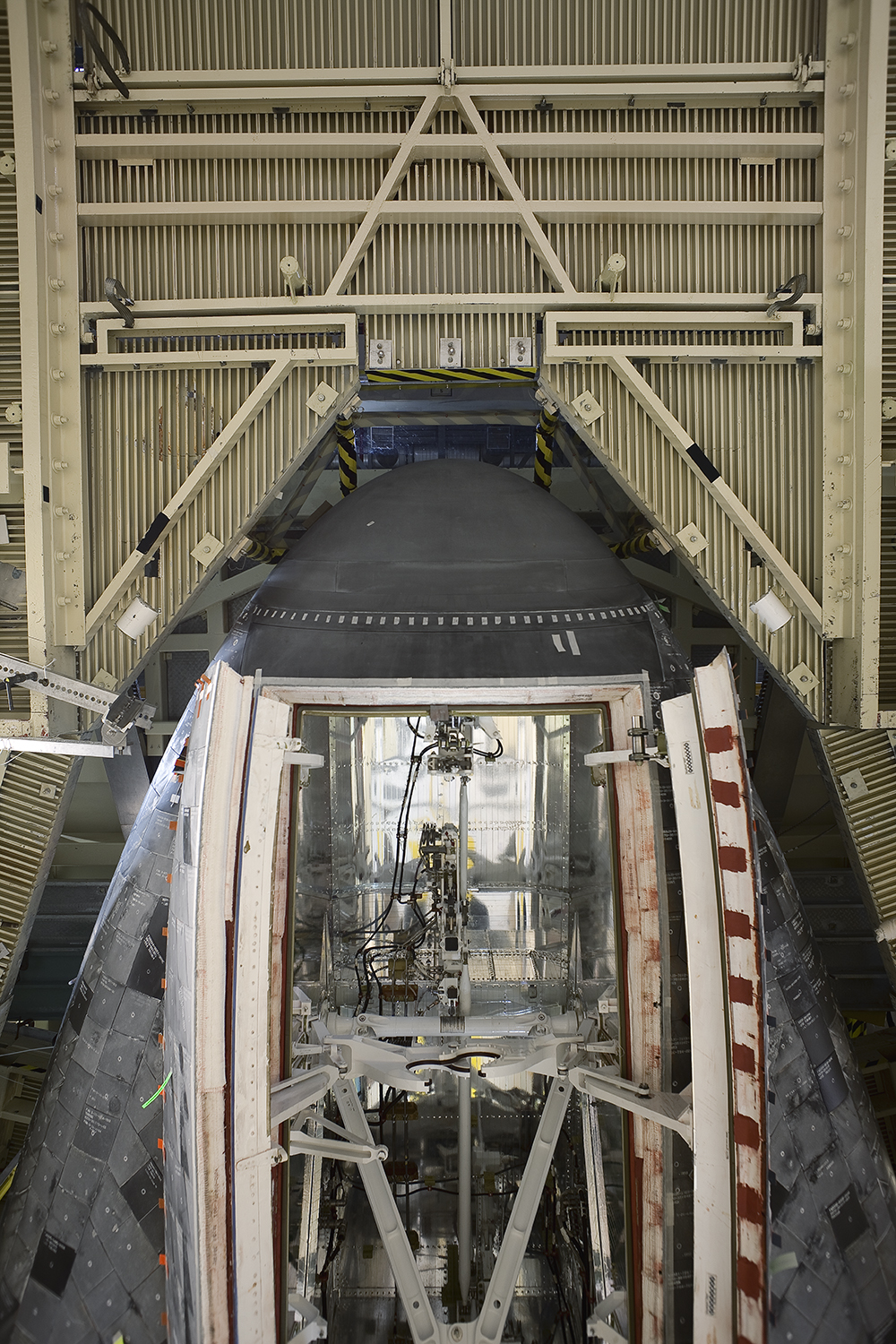 Nose Gear Doors and Platforms Space Shuttle Atlantis