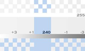 - 240 RGB Individual Test Value Target