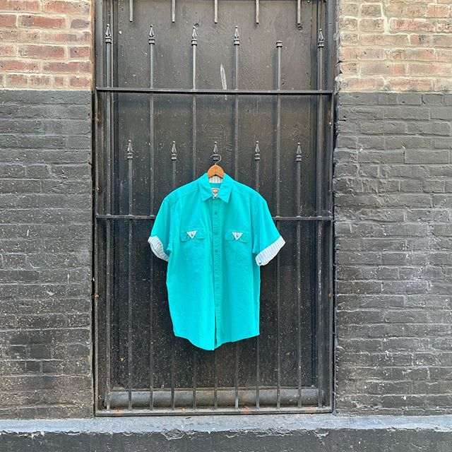 80's Banana Republic  Uniform Shirts • • • #bananarepublic #nextvintage