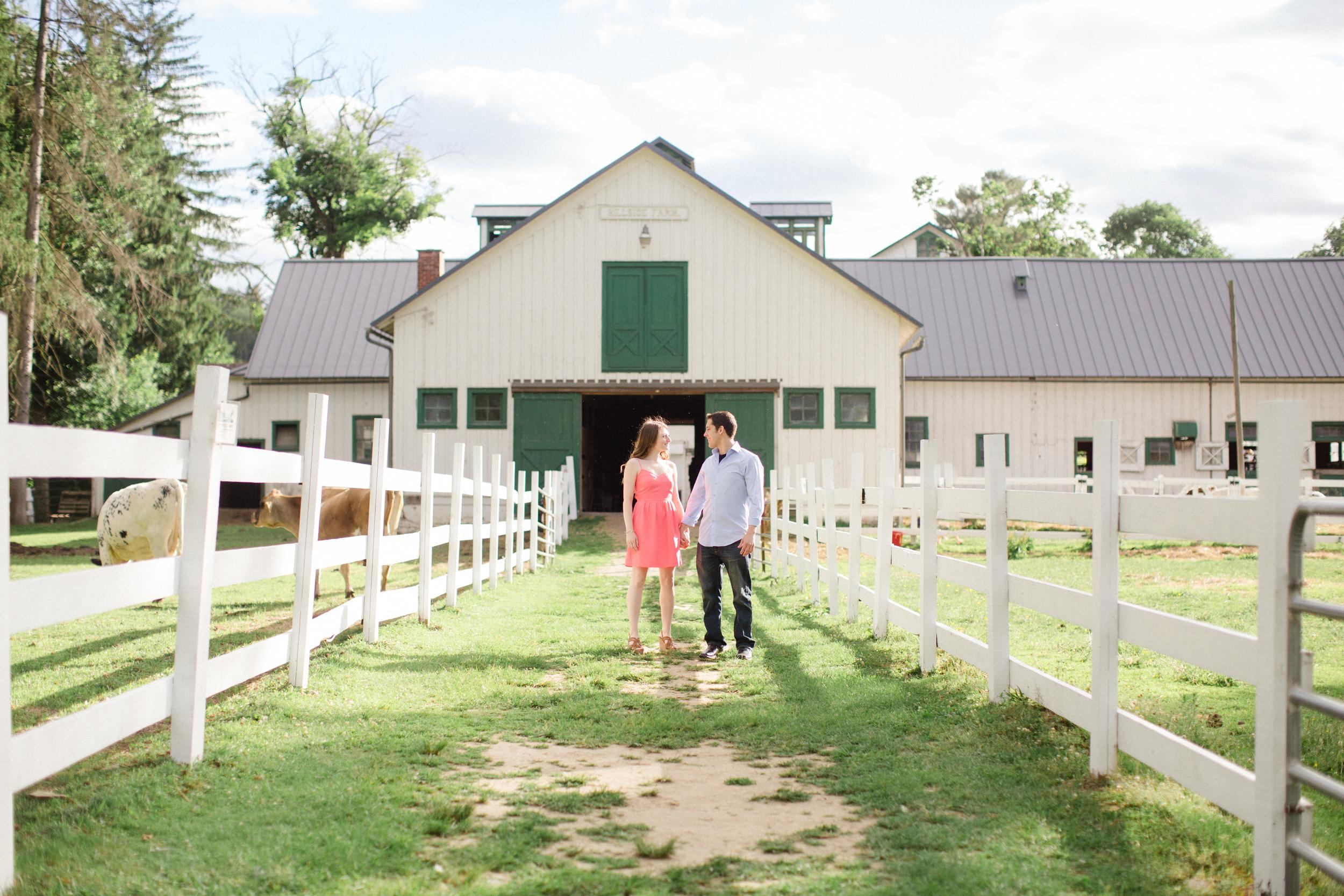 Michelle Anthony Hillside Farms Engagement Session Photos Jordan Denike Photography