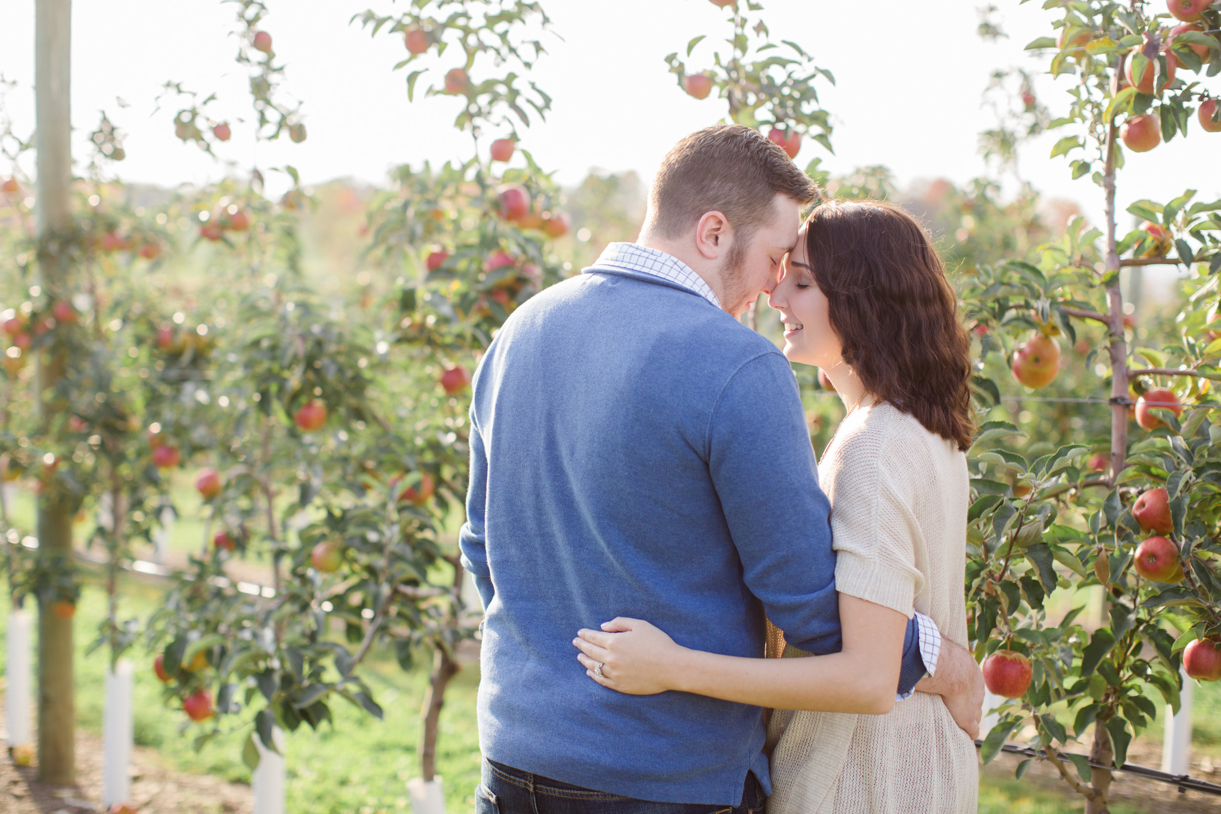Scranton PA Wedding Photographers Fall Engagement Session Roba's Apple Orchard_JDP-2051.jpg