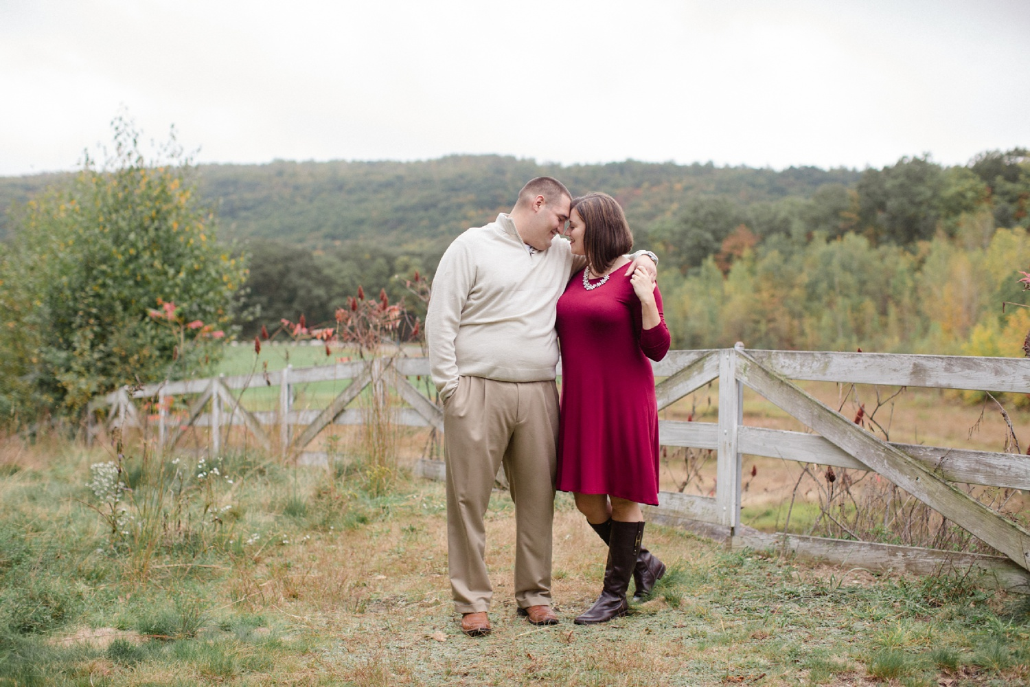 Scranton PA Fall Engagement Session