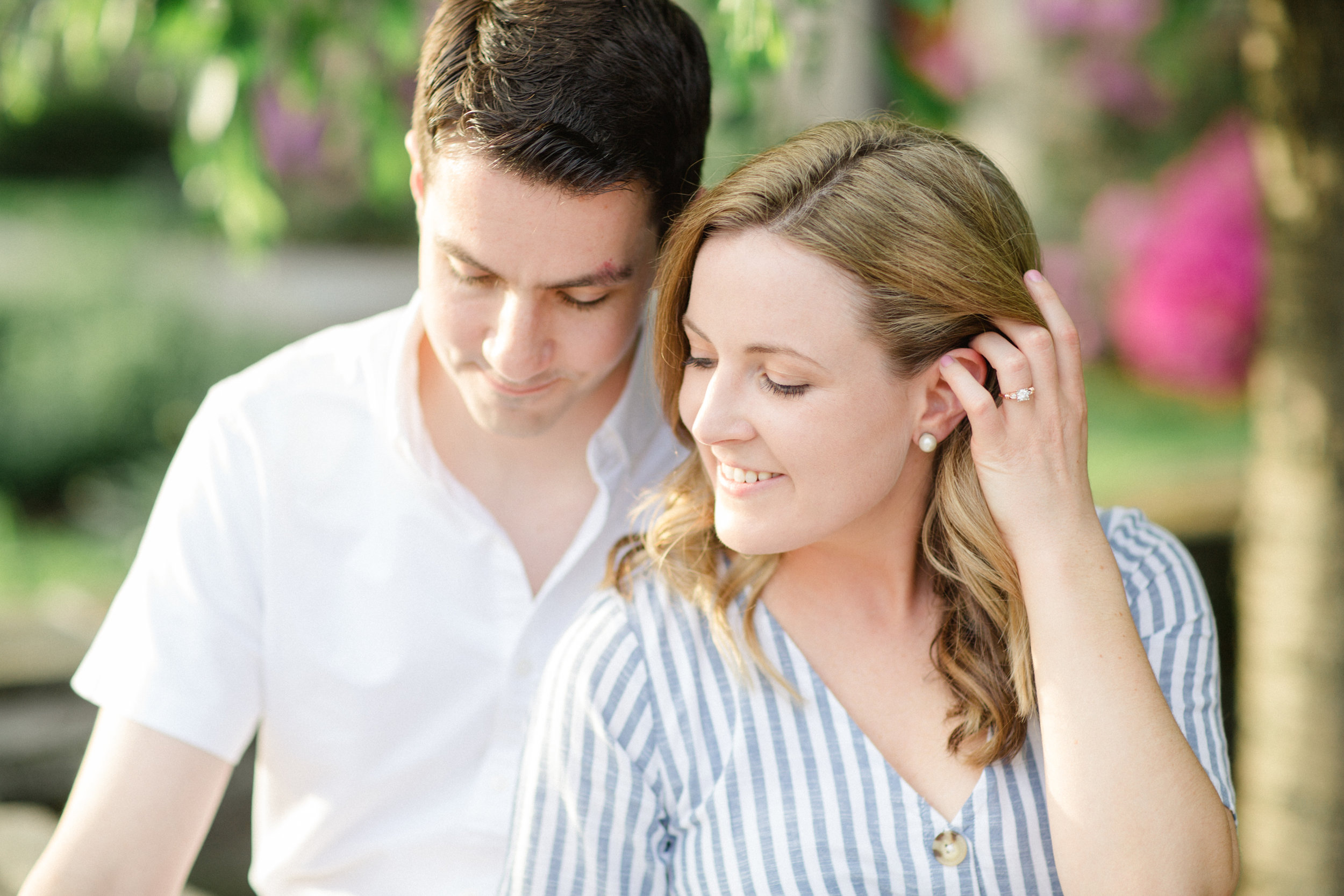 Scranton PA Spring Engagement Session