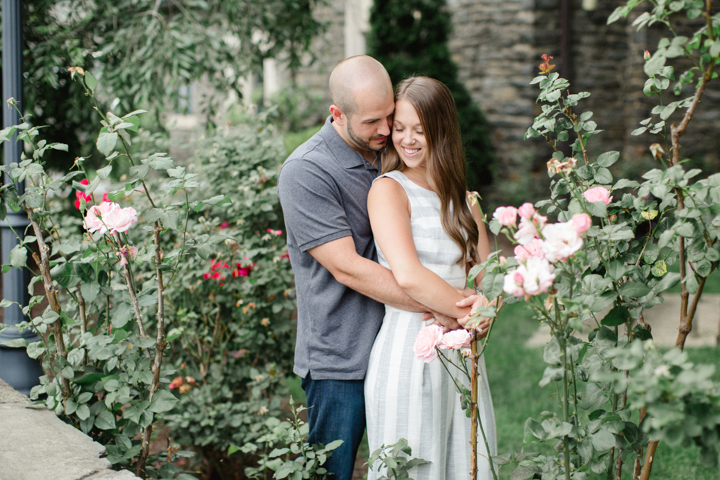 University of Scranton Engagement Session