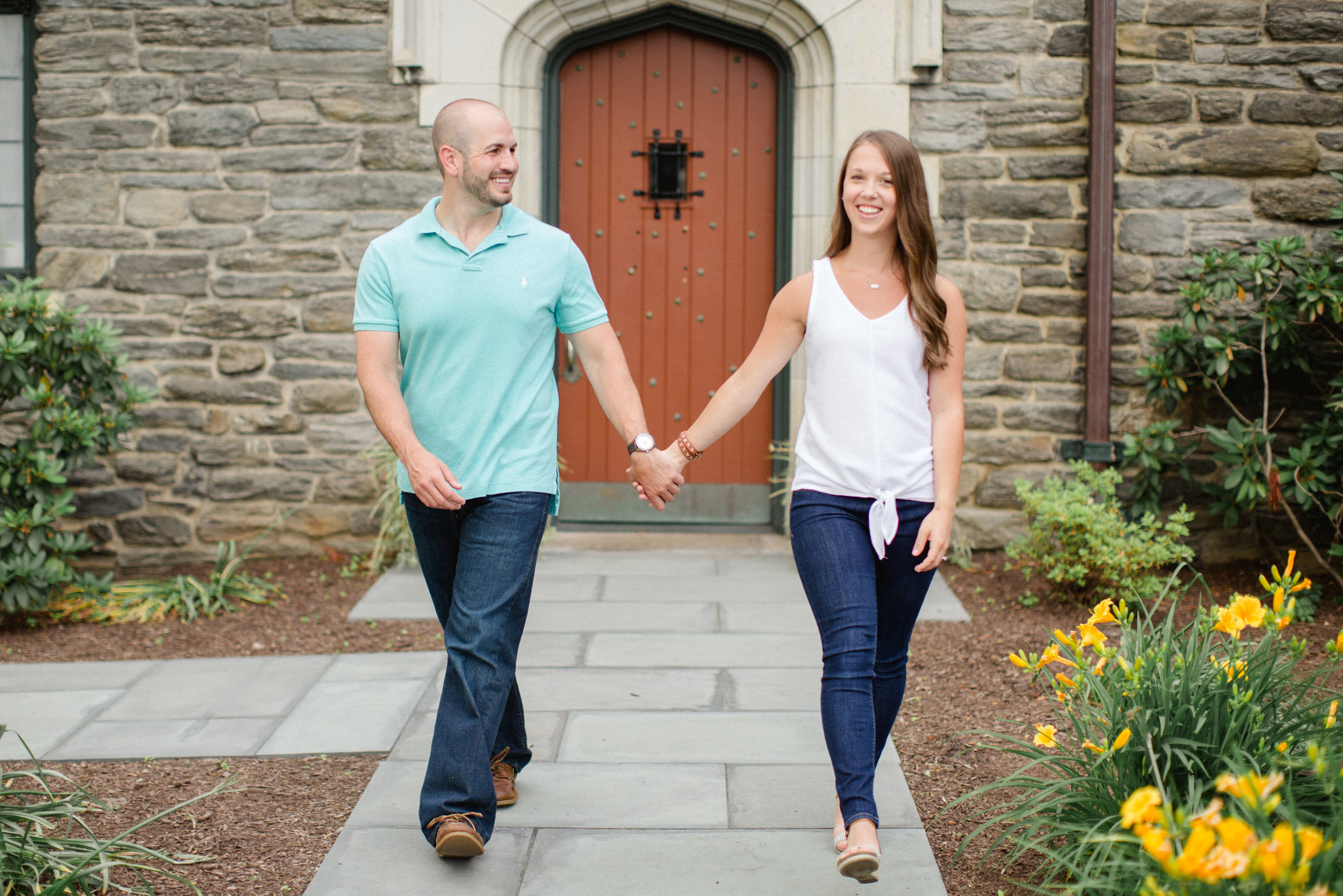 University of Scranton Engagement Session Photos_JDP-11.jpg