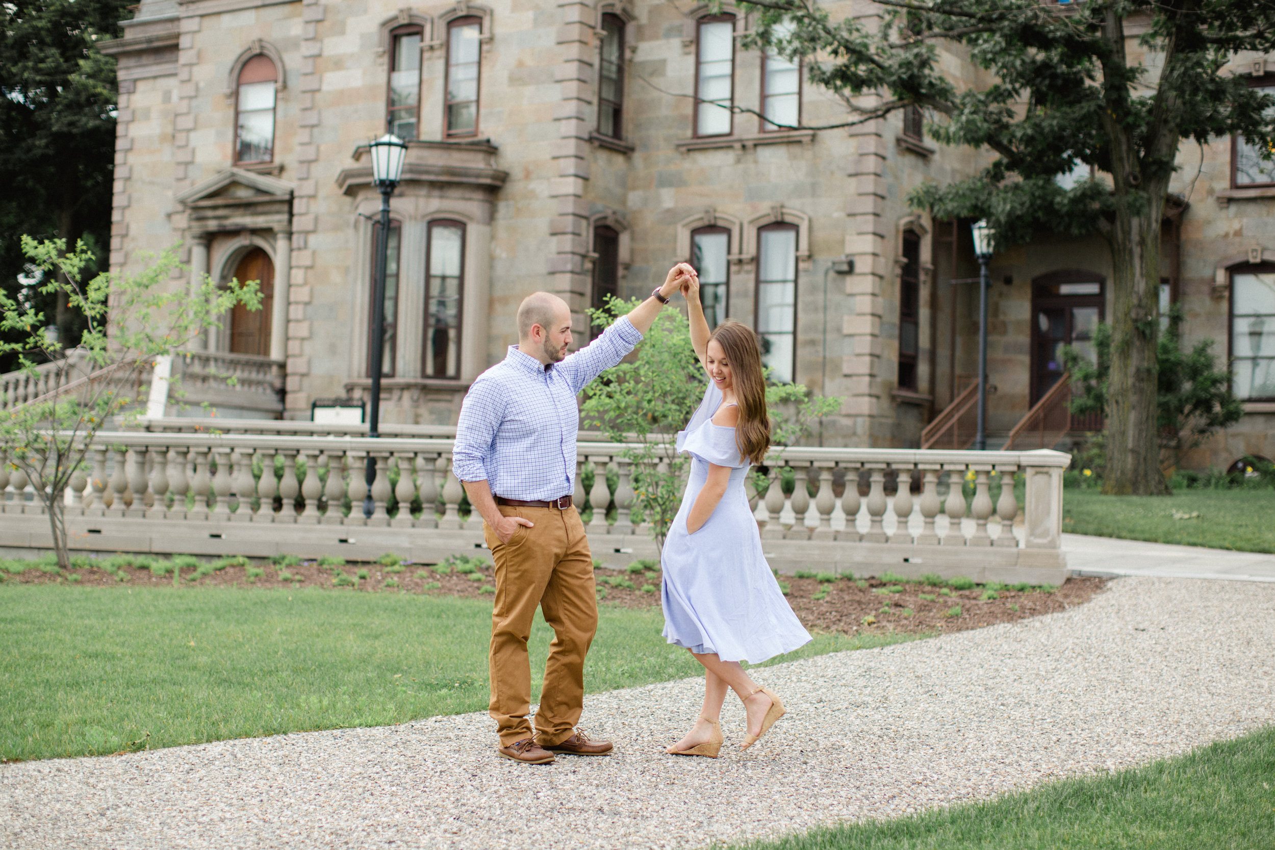 University of Scranton Engagement Session Photos_JDP-26.jpg