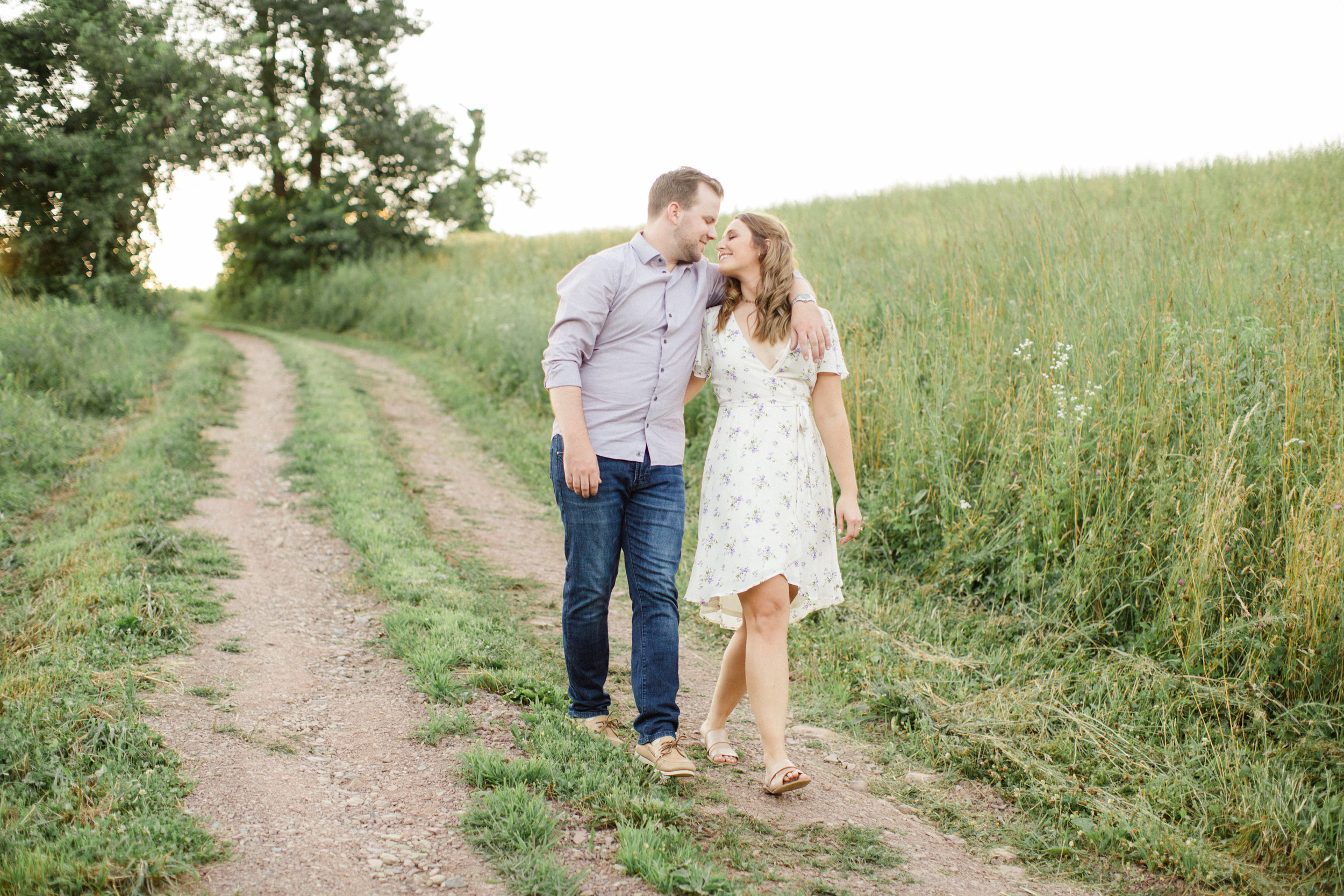 Stroudsburg PA Engagement Session