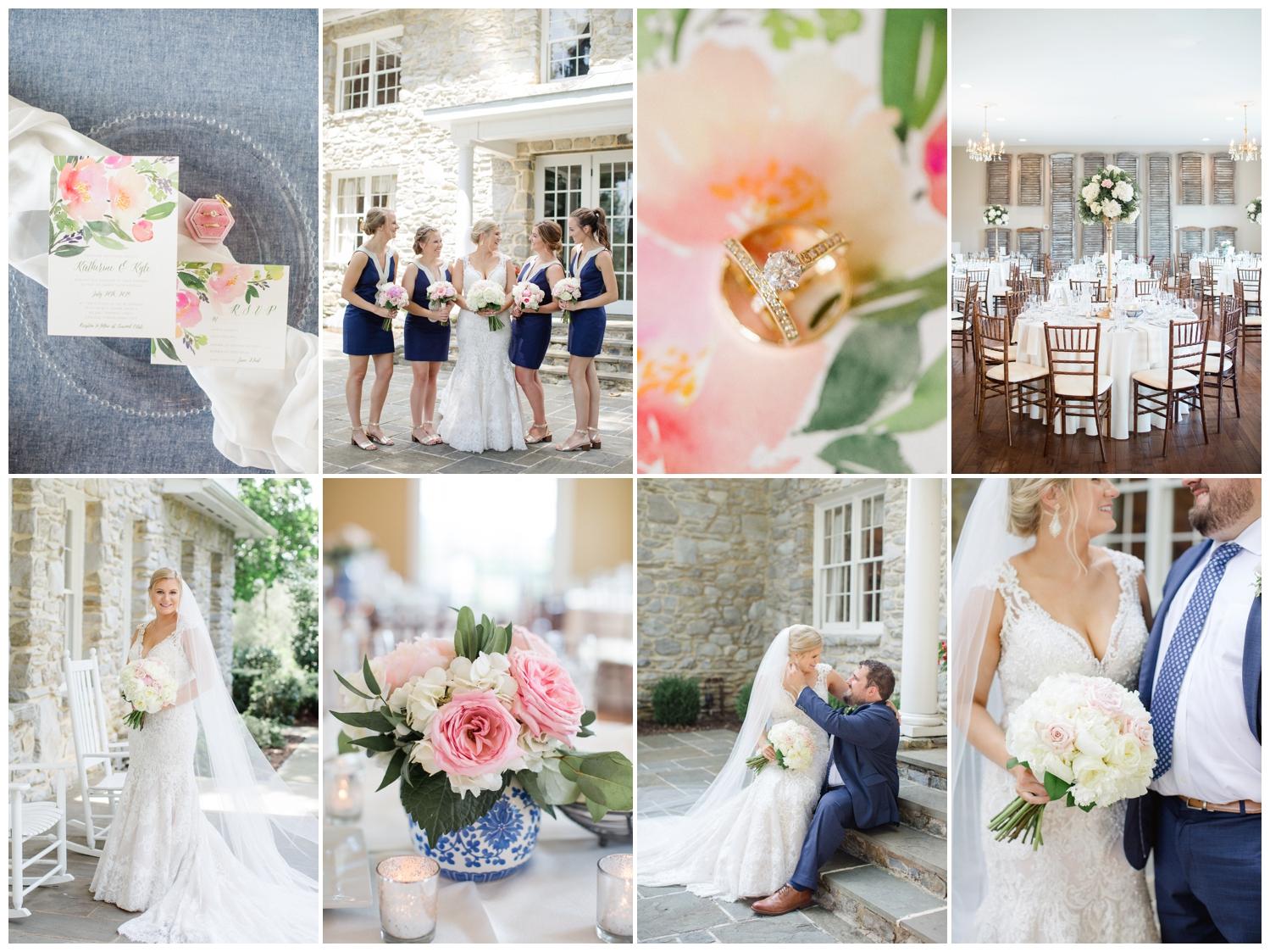 Summer Linwood Estate Wedding Photos