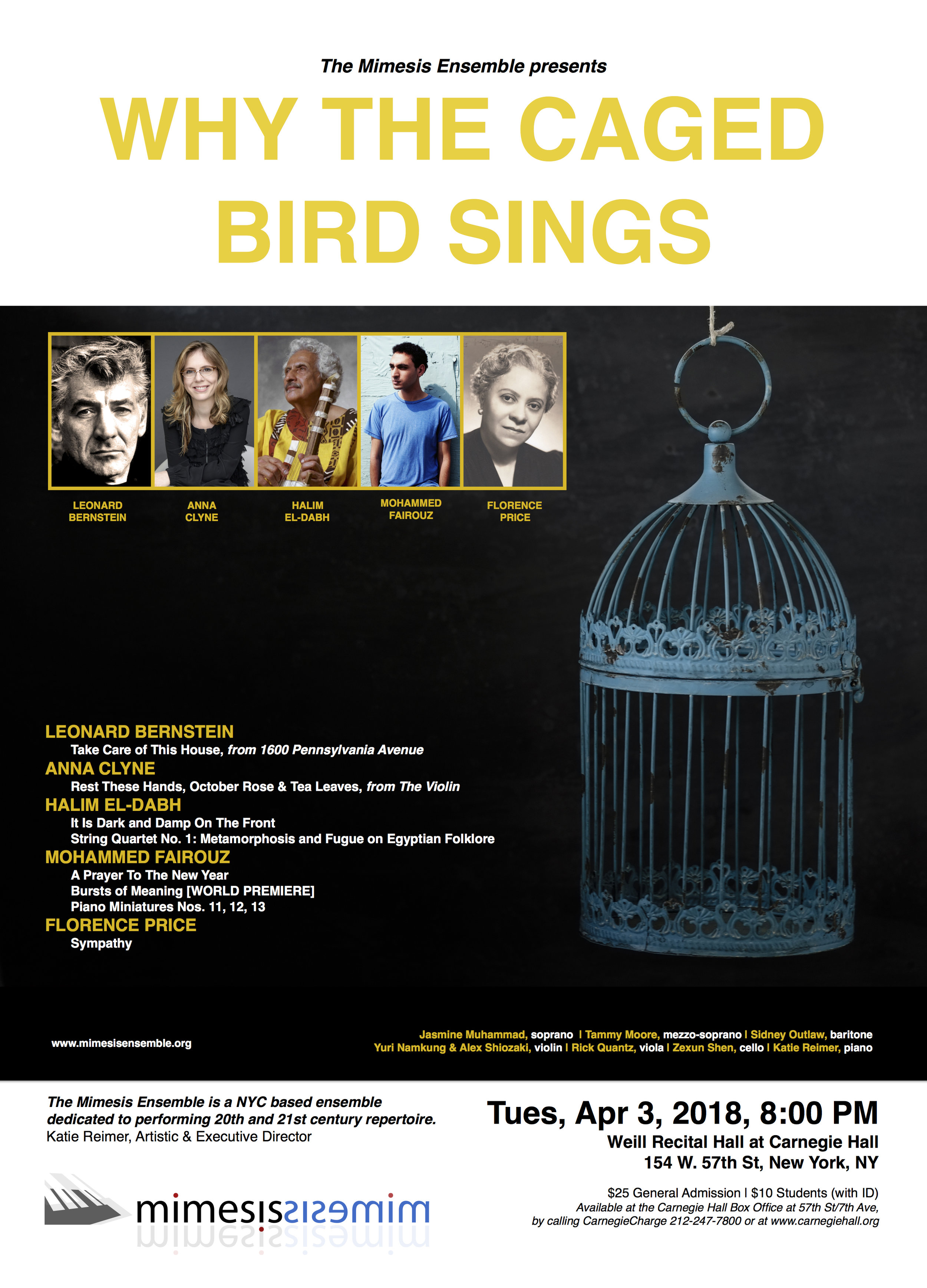 Apr 3, 2018 Why the Caged Bird Sings - LARGE POSTER FOR CARNEGIE JPEG.jpg