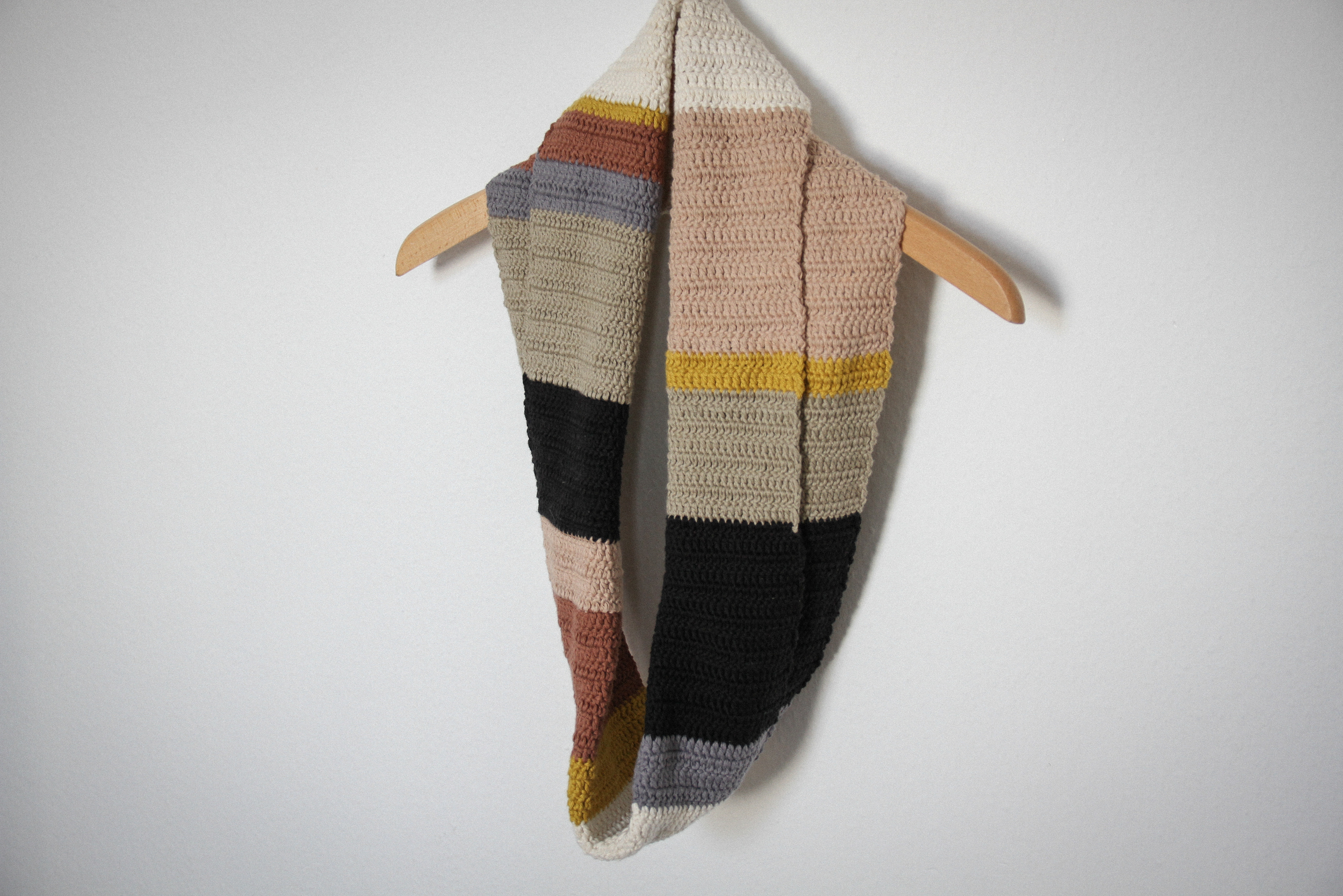 100% cotton wrap around scarf by carolyn carter