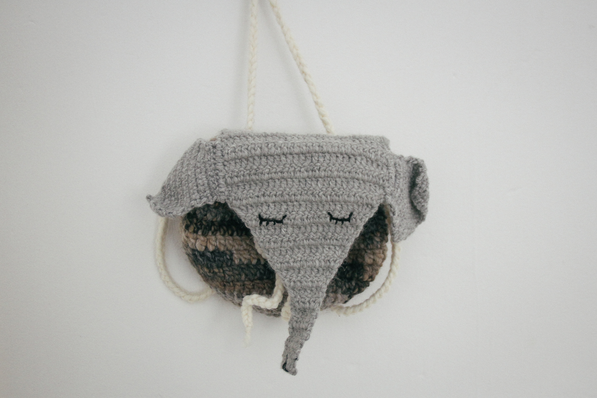 Crocheted toddler backpack   by carolyn carter