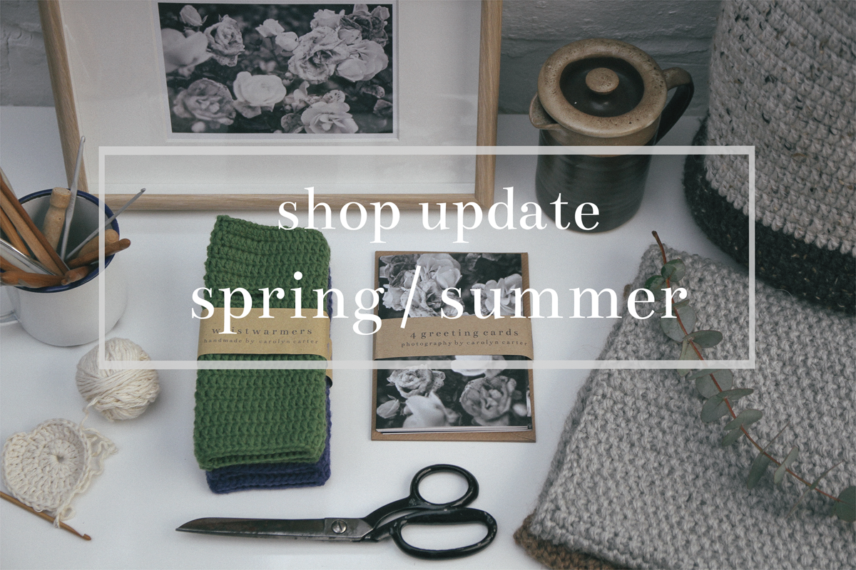 shop update | carolyn carter