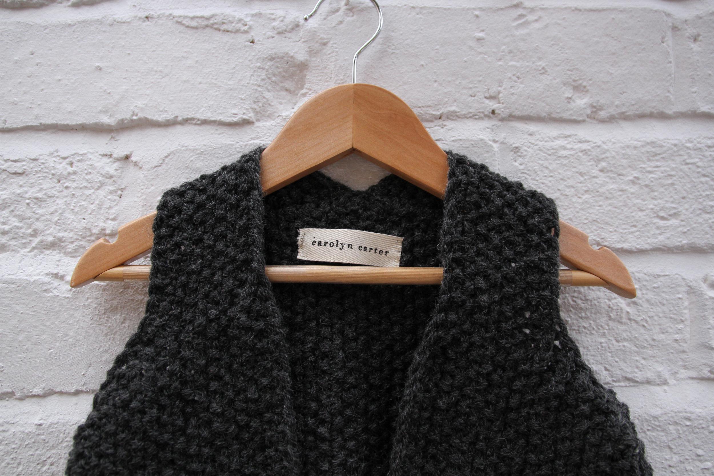 knitted waistcoat | carolyn carter