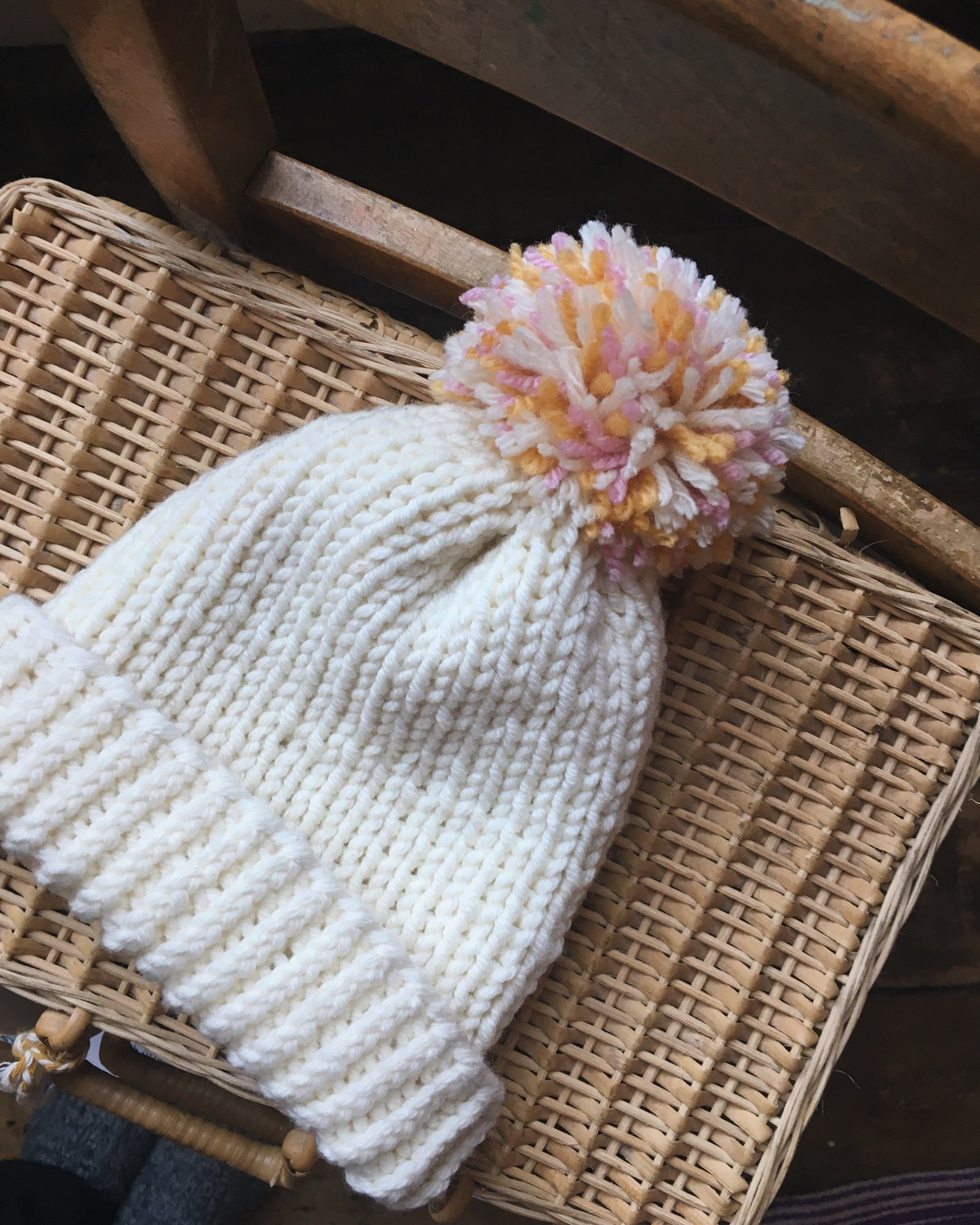 knitted hat - christmas 2016 | carolyn carter blog