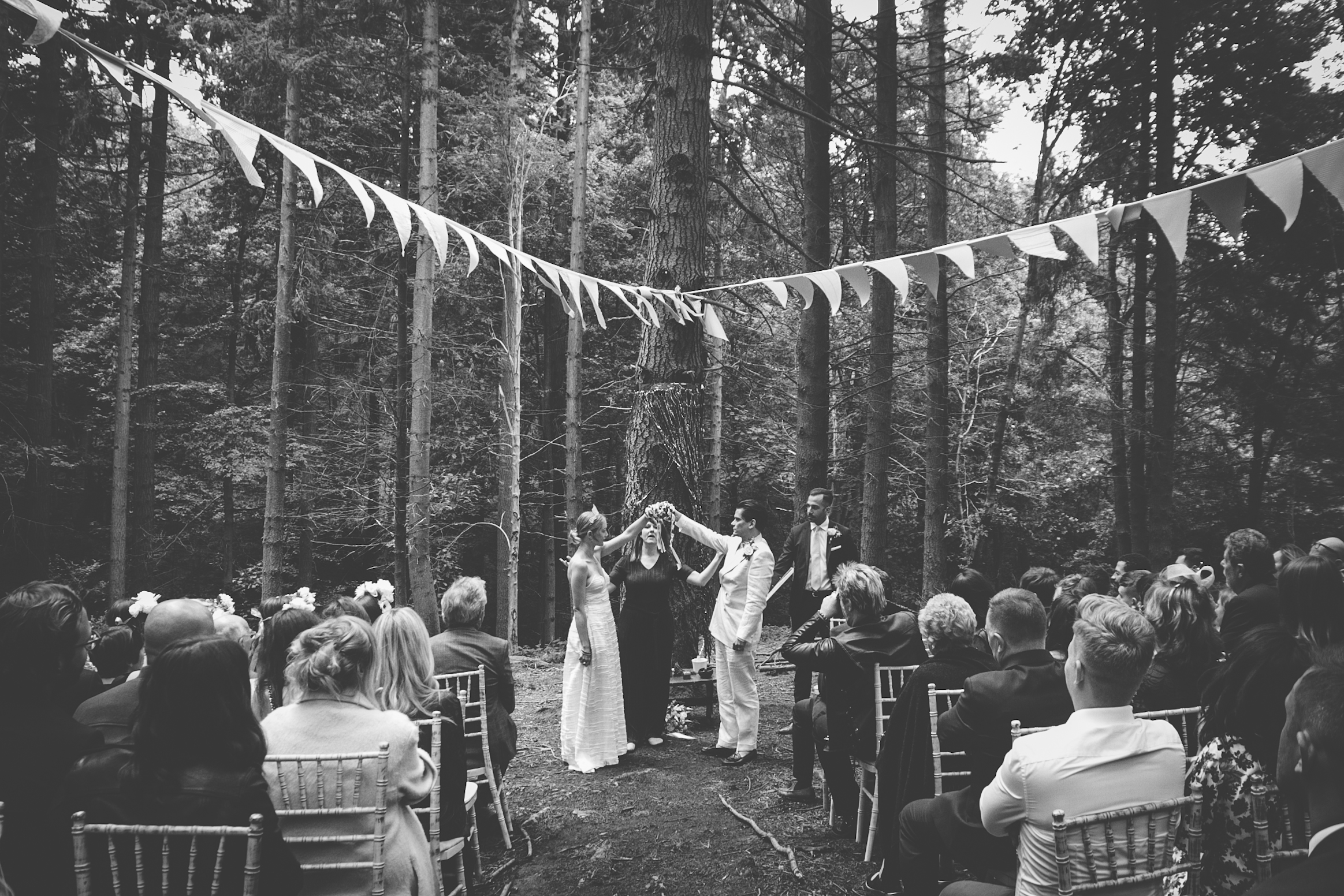 Magical Forest Wedding | Carolyn Carter Photography