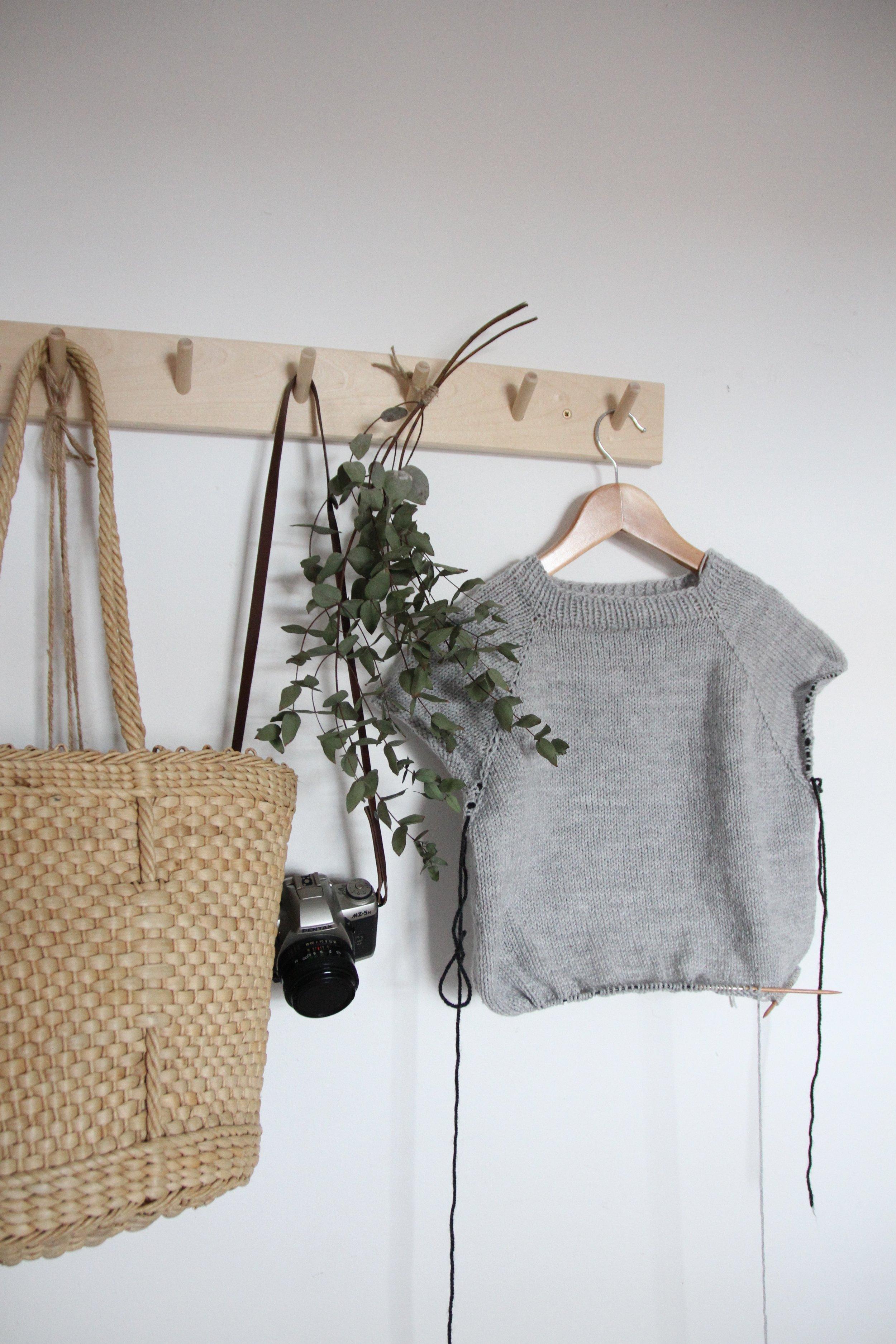 No Frills Sweater  by Petitknit