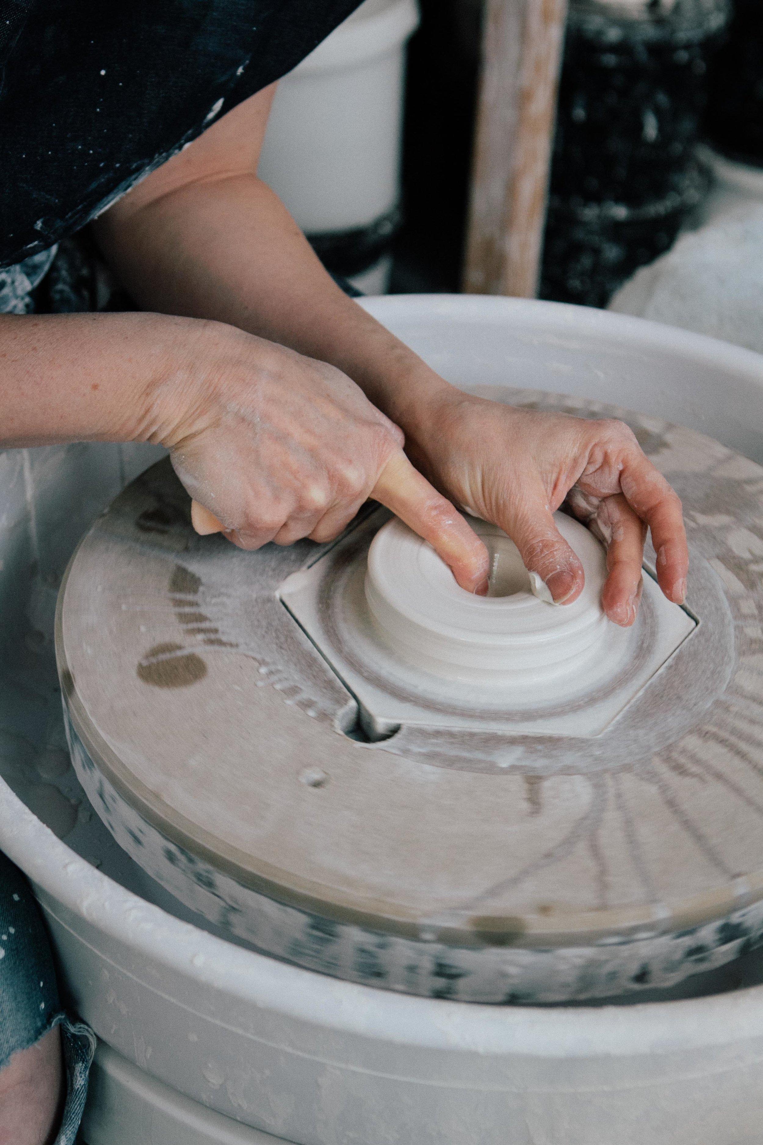 Katie Robins | Ceramic Studio - Carolyn Carter Photography