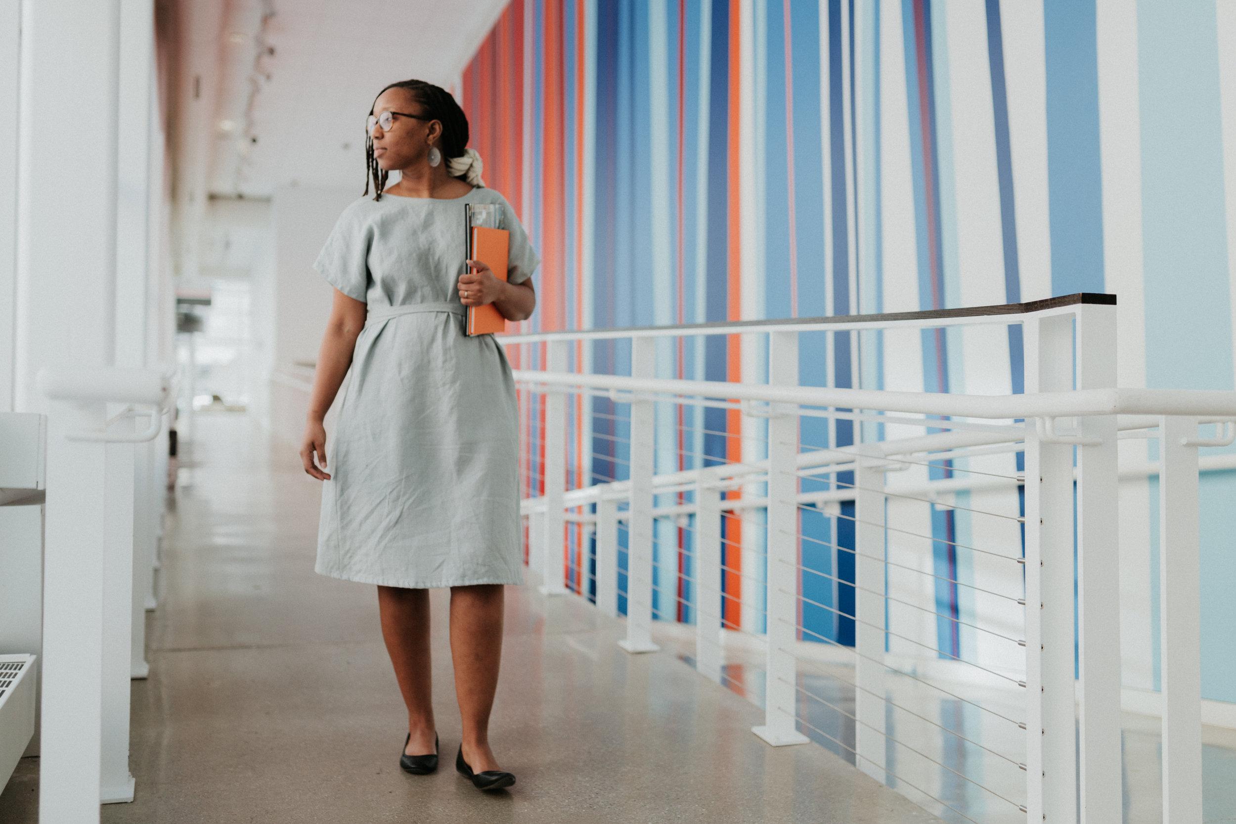 Juana - Curator at the Urban Instituste of Contemporary Art