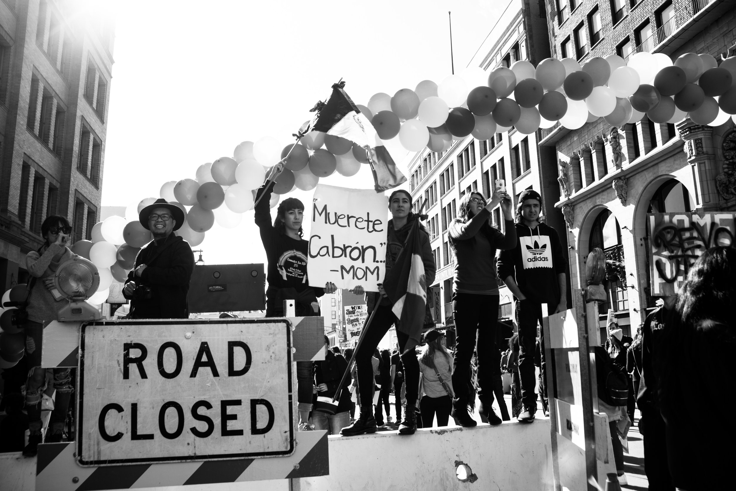 2017 Women's March Los Angeles