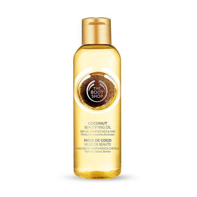 Body Shop Coconut Oil