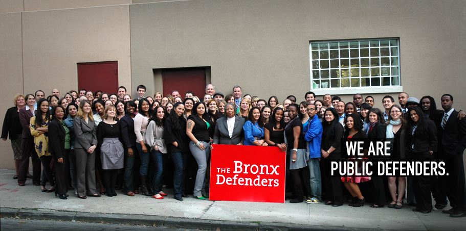 The team at Bronx Defenders (Credit: Bronx Defenders)