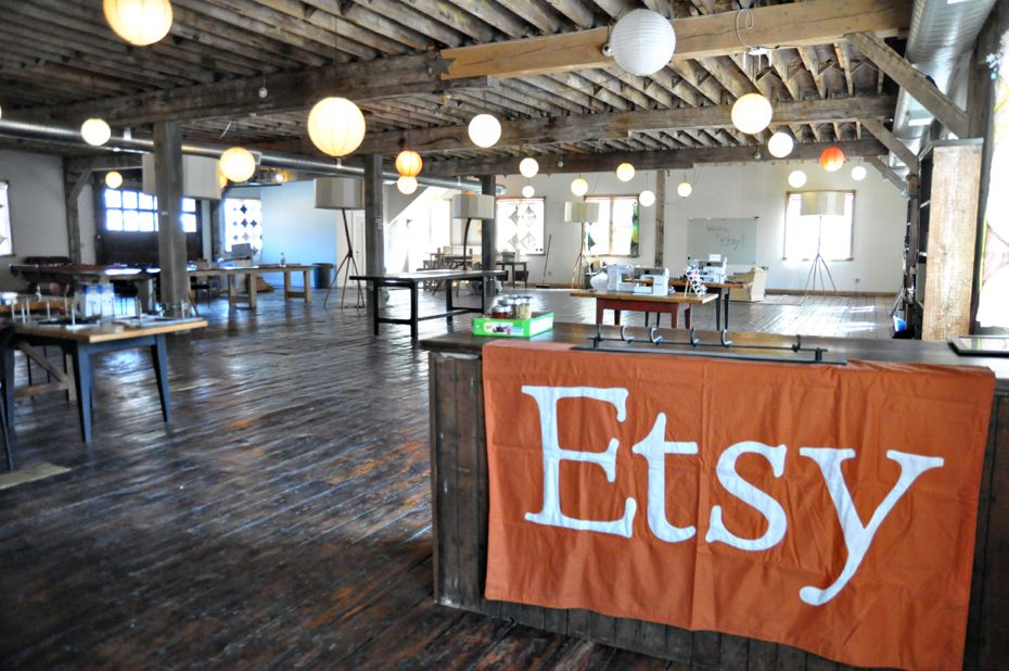Etsy's offices ( Source )
