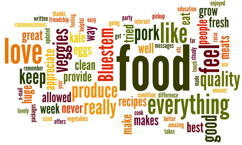 Here are some nice things our members had to say about our summer CSA program.