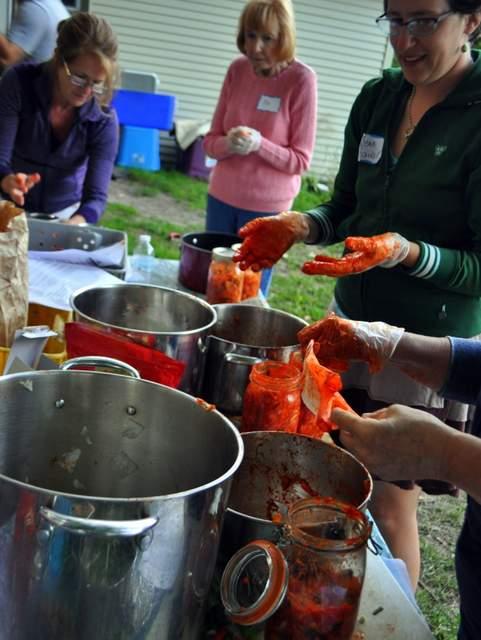 Kimchi workshop at Bluestem Farm, free for members.